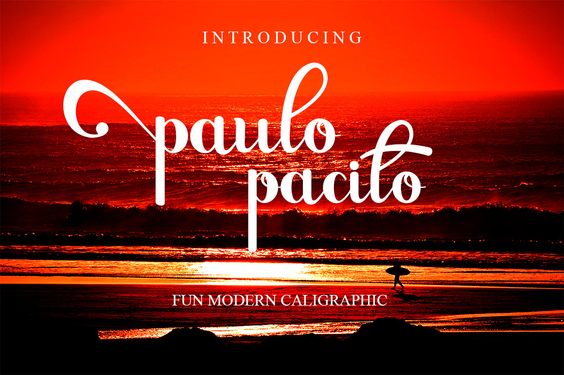 Print on Demand: Paulo Pacito Script & Handwritten Font By Haksen
