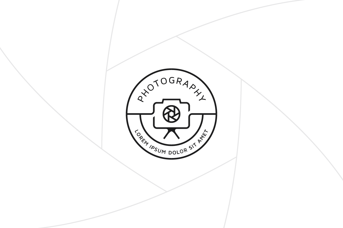 Photograph Logo Template Graphic Logos By Fand