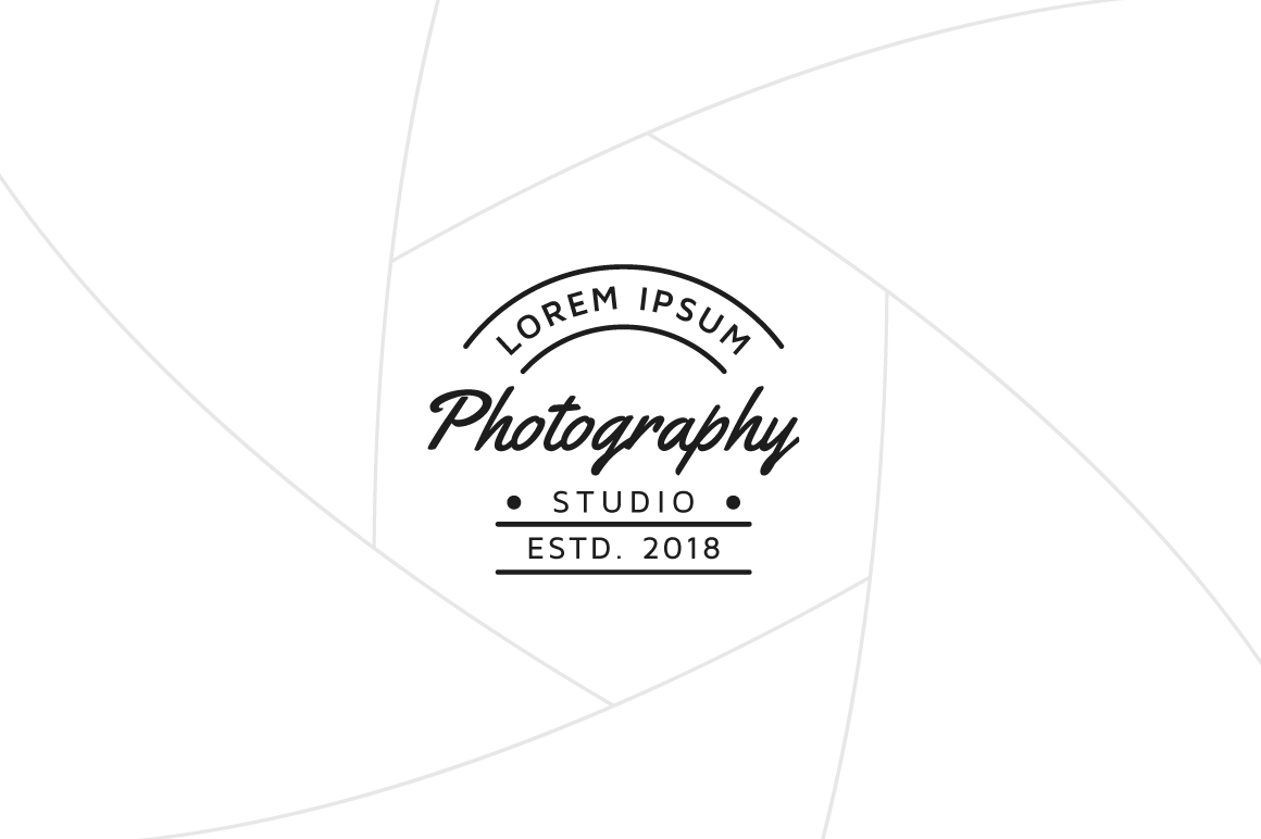 Photography Logo Template Graphics