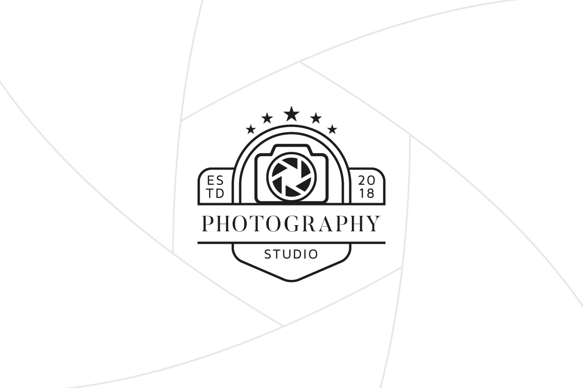 Photography Studio Logo Template Graphic Logos By Fand
