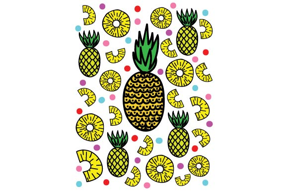 Download Free Pineapple Journal Card Svg Cut File By Creative Fabrica Crafts for Cricut Explore, Silhouette and other cutting machines.