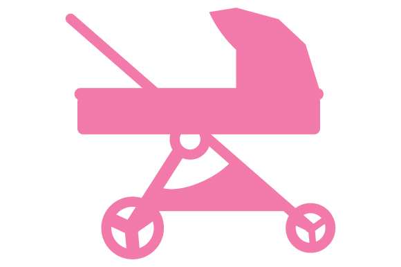 Download Free Pink Baby Stroller Svg Cut File By Creative Fabrica Crafts for Cricut Explore, Silhouette and other cutting machines.