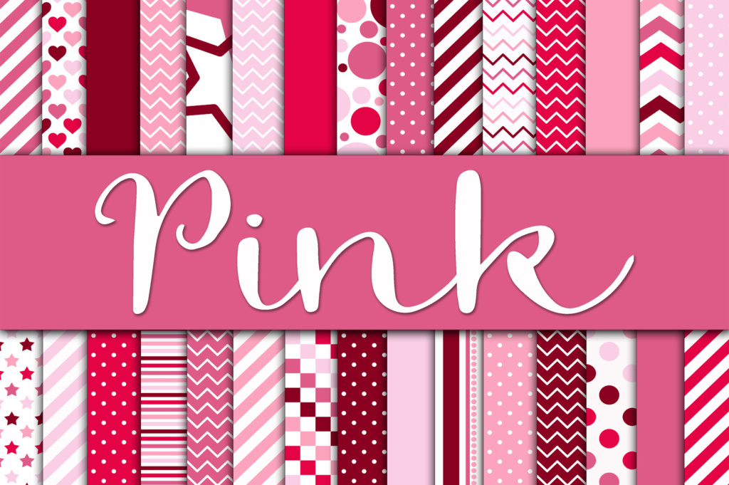 Pink Digital Papers Graphic By Oldmarketdesigns Creative Fabrica