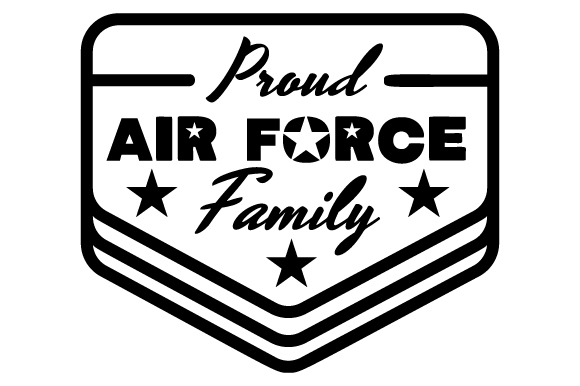 Proud Air Force Family Military Craft Cut File By Creative Fabrica Crafts 2
