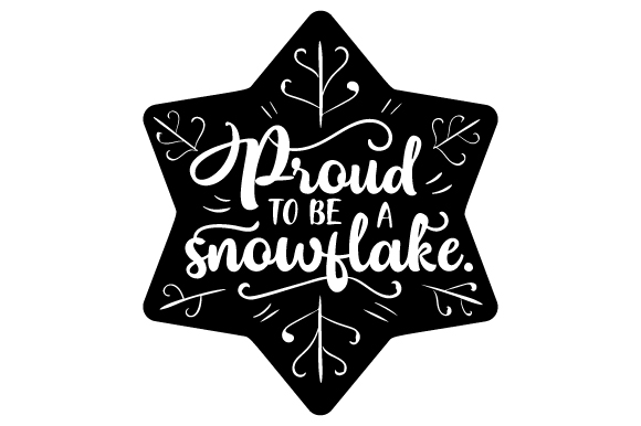 Download Free Proud To Be A Snowflake Svg Cut File By Creative Fabrica Crafts for Cricut Explore, Silhouette and other cutting machines.