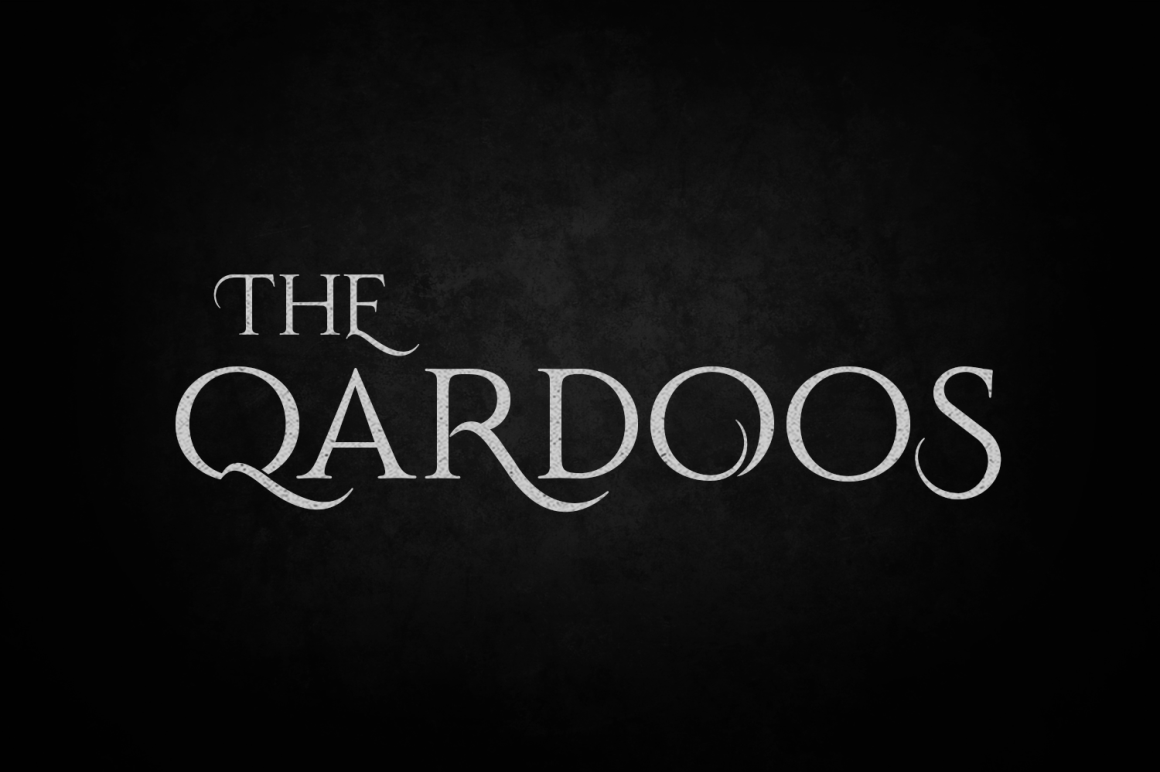 Print on Demand: Qardoos Display Font By tamaputra