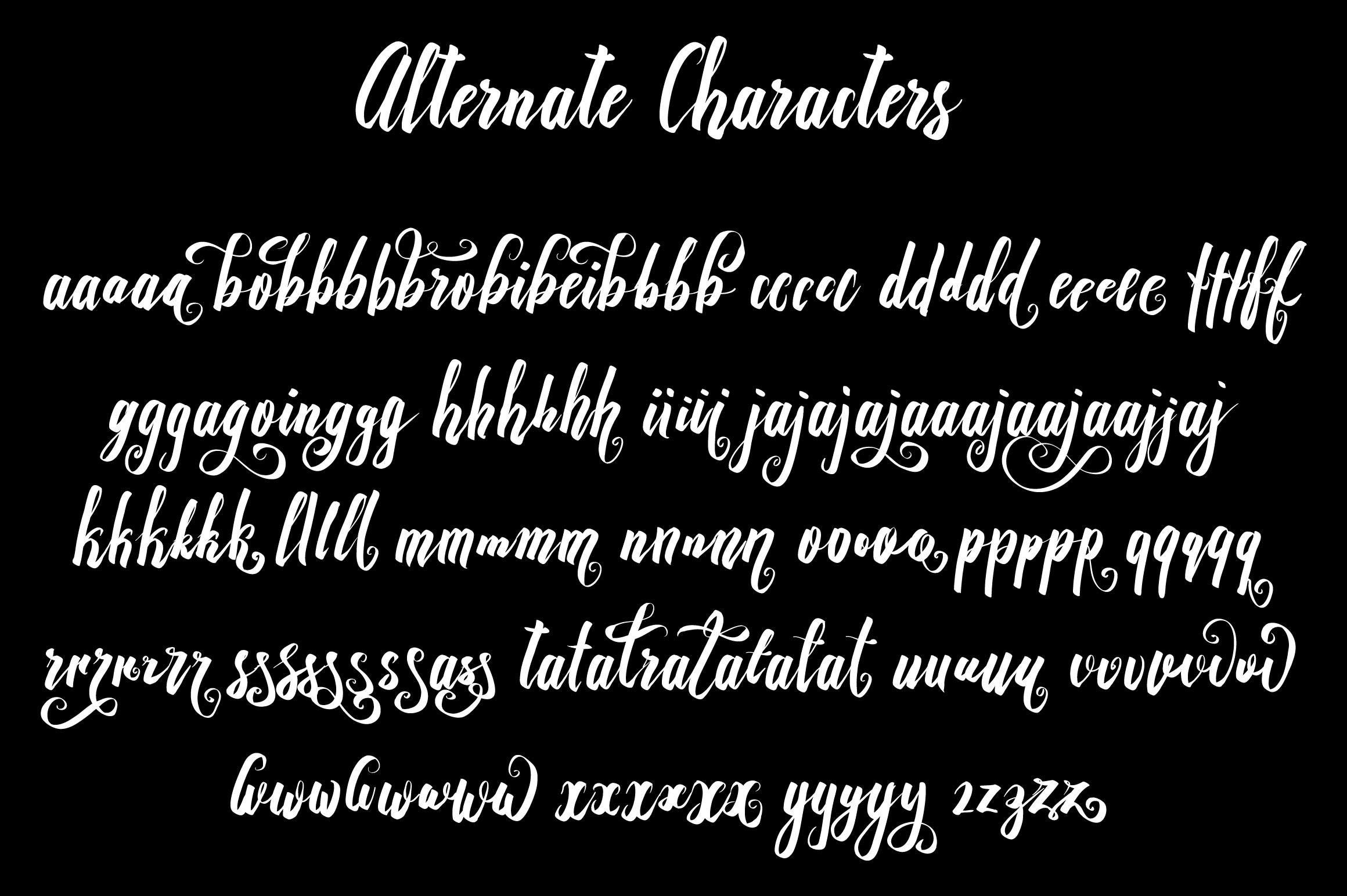 Recognition Script Font By Royaltype Image 3
