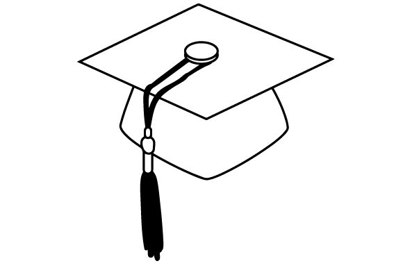Download Free Red Graduation Cap Svg Cut File By Creative Fabrica Crafts for Cricut Explore, Silhouette and other cutting machines.