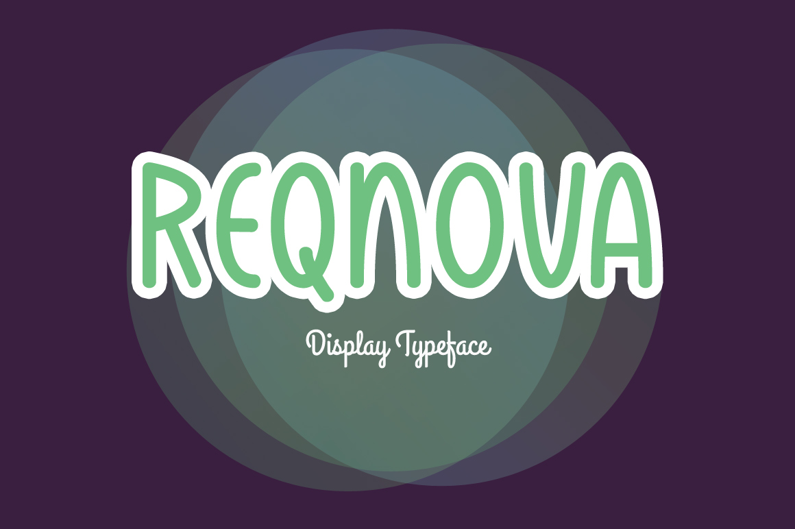 Print on Demand: Reqnova Display Font By Contour Fonts