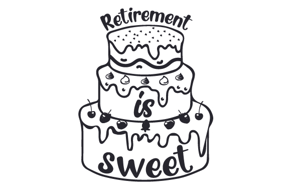 Download Free Retirement Is Sweet Svg Cut File By Creative Fabrica Crafts for Cricut Explore, Silhouette and other cutting machines.