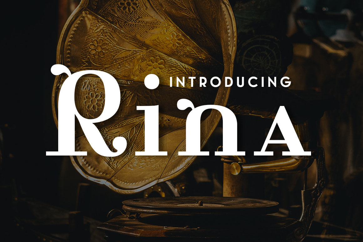 Print on Demand: Rina Serif Font By Typodermic