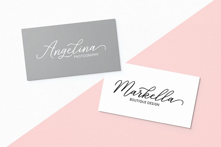 Print on Demand: Rosabelia Script & Handwritten Font By Solidtype - Image 9