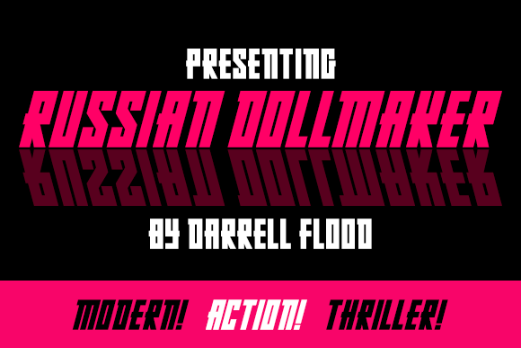 Print on Demand: Russian Dollmaker Display Font By Dadiomouse