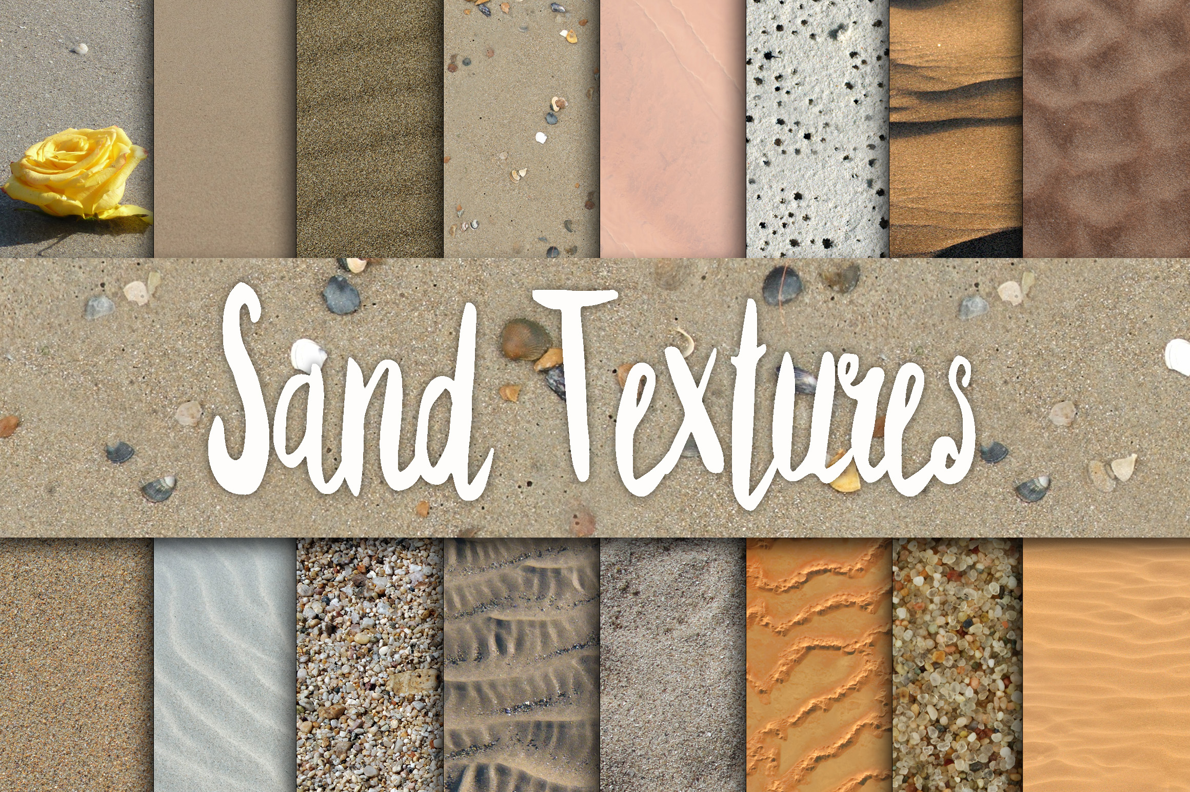 Print on Demand: Sand Textures Digital Paper Graphic Backgrounds By oldmarketdesigns