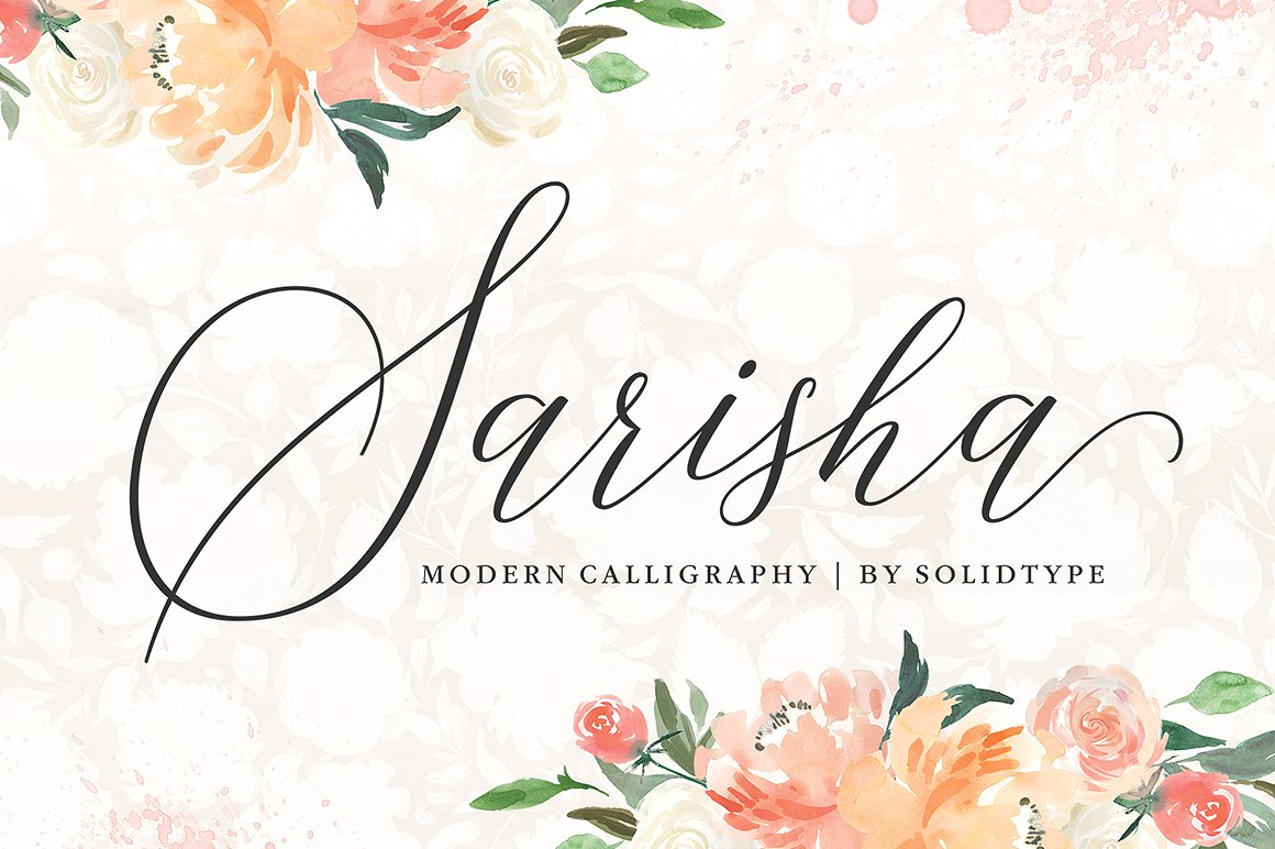 Sarisha Font By Solidtype Image 11
