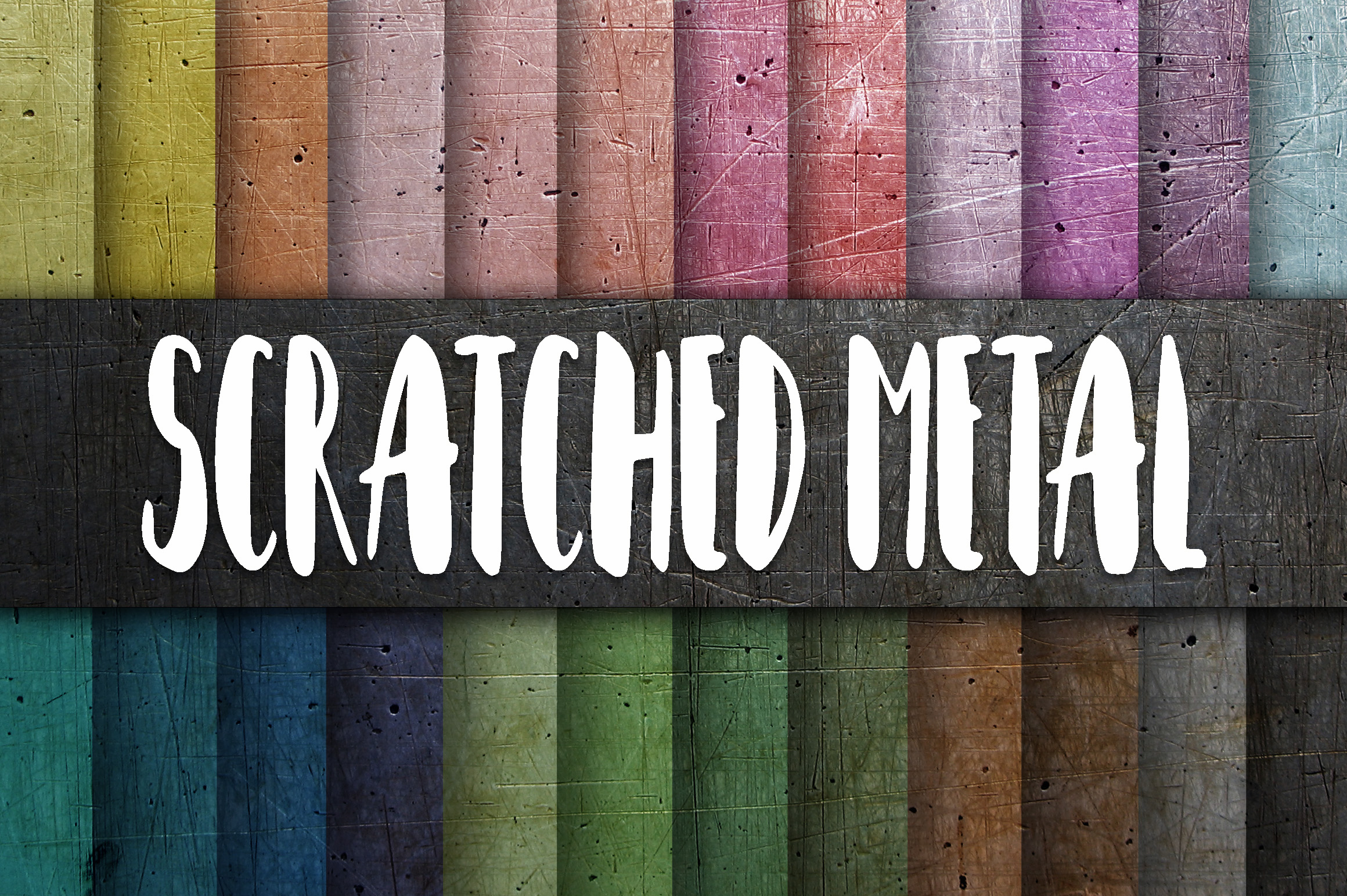 Scratched Metal Textures Digital Paper Graphic Backgrounds By oldmarketdesigns