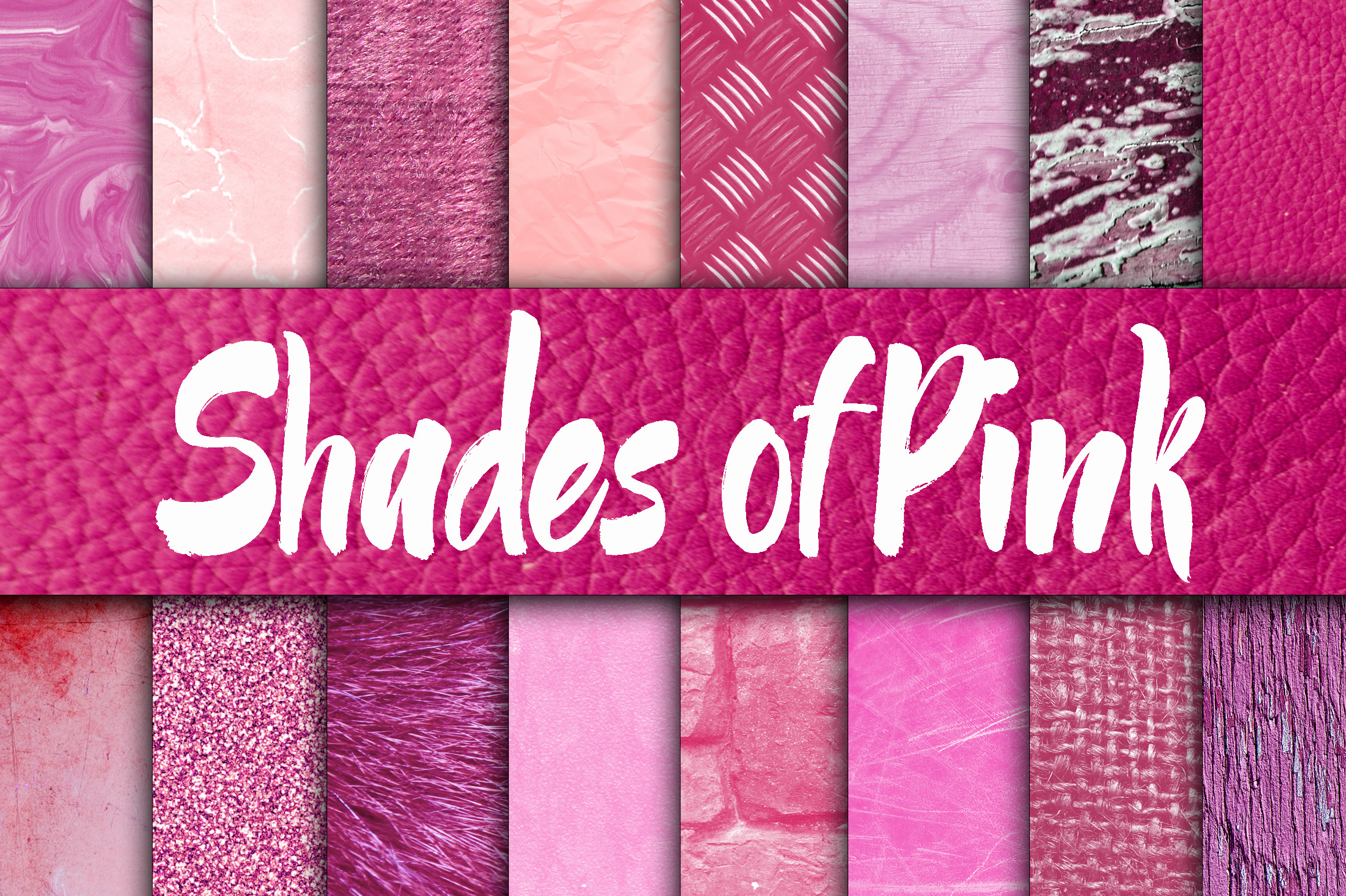 Shades of Pink Digital Paper Textures Graphic By oldmarketdesigns Image 1