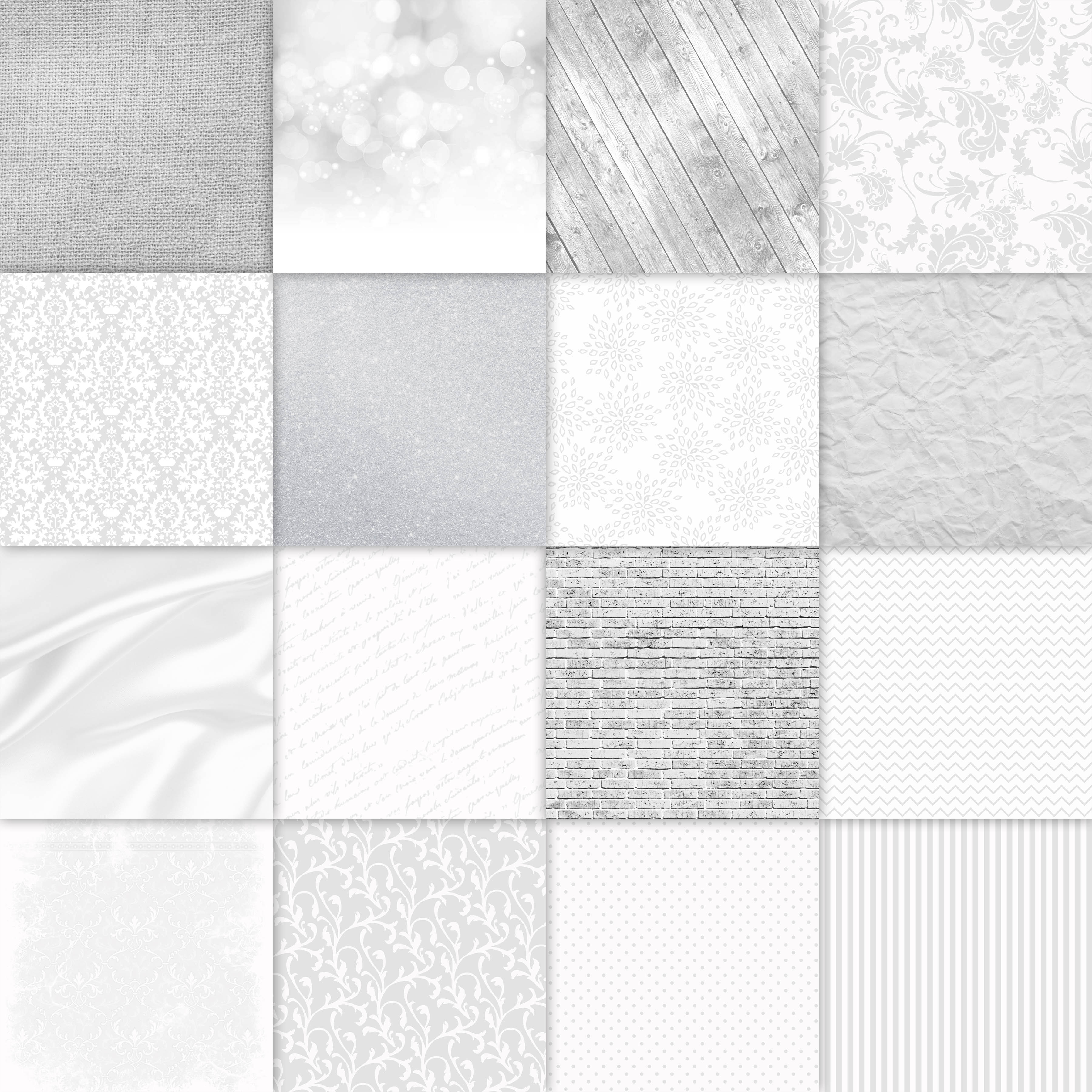Download Free Shades Of White Digital Paper Textures Graphic By for Cricut Explore, Silhouette and other cutting machines.