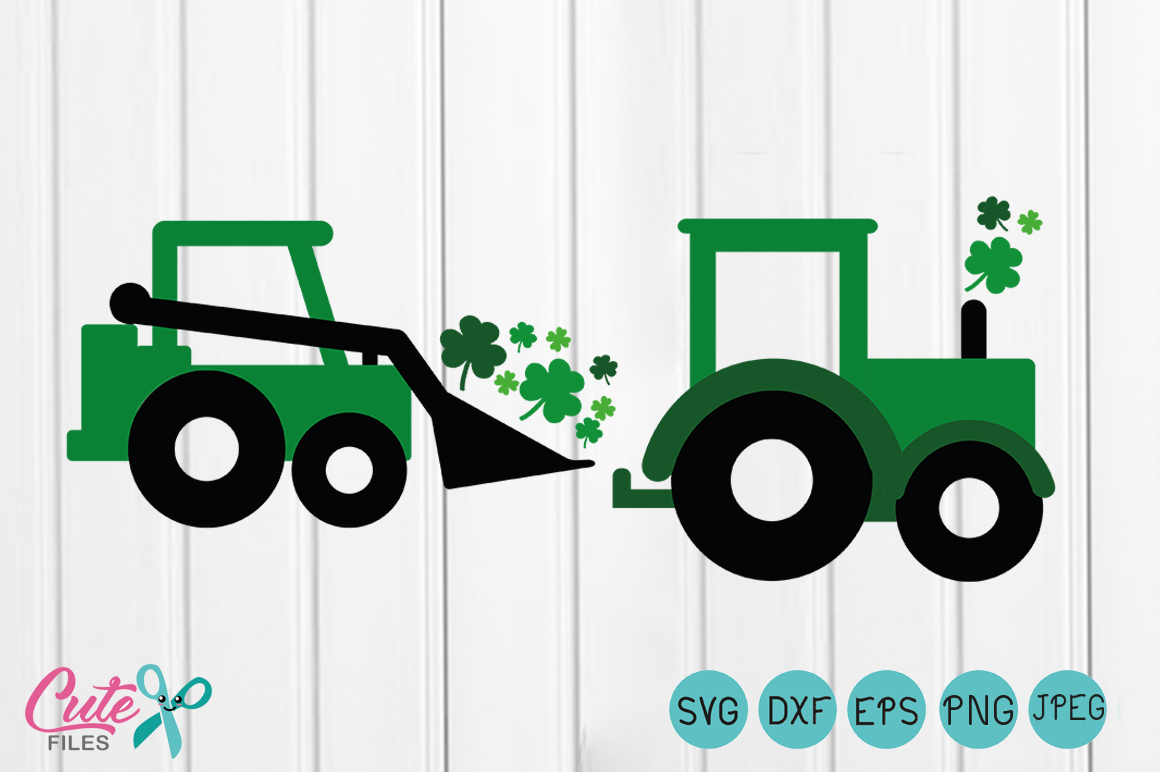 Download Free Shamrock Truck Graphic By Cute Files Creative Fabrica for Cricut Explore, Silhouette and other cutting machines.