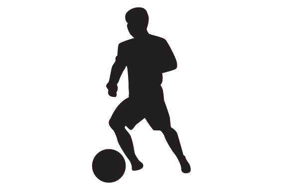 Download Free Soccer Player 2 Svg Cut File By Creative Fabrica Crafts for Cricut Explore, Silhouette and other cutting machines.