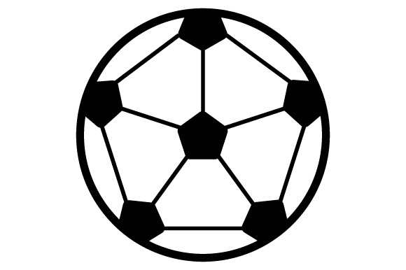 Soccerball Sports Craft Cut File By Creative Fabrica Crafts