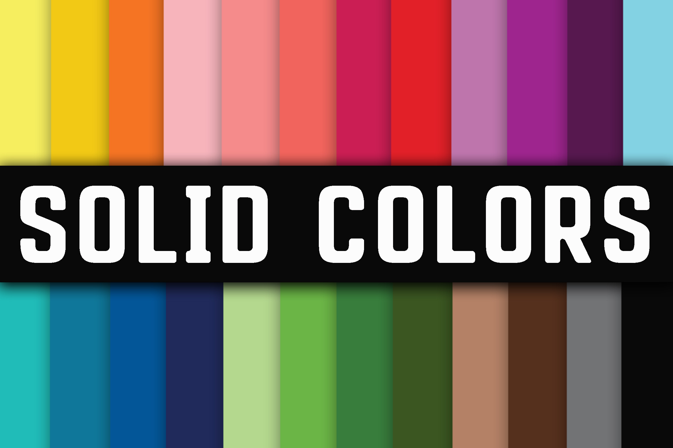 Solid Colors Digital Papers Graphic Backgrounds By oldmarketdesigns