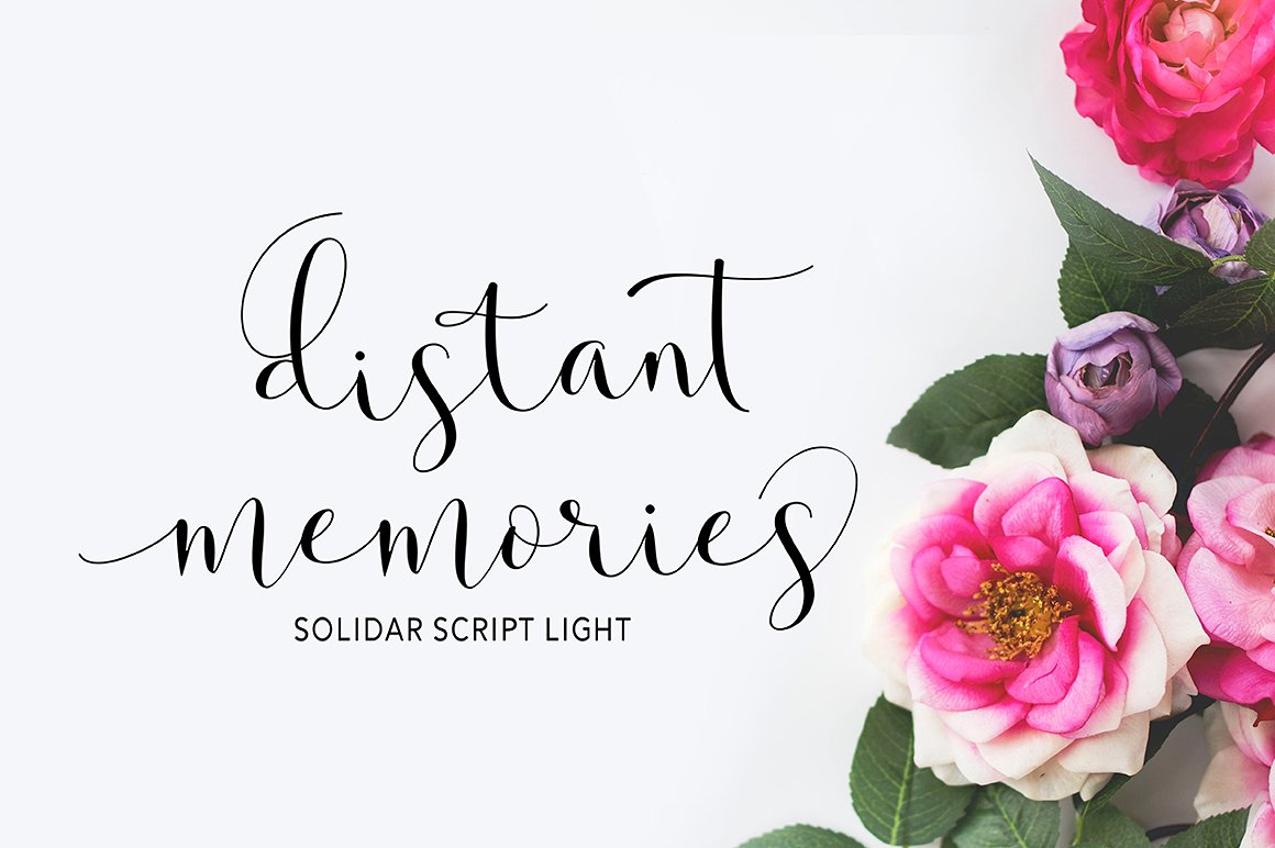 Print on Demand: Solidar Script & Handwritten Font By Solidtype - Image 11