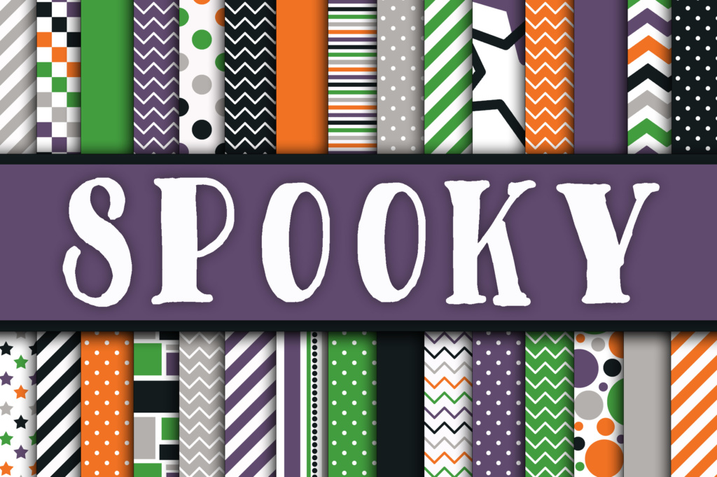 Download Free Spooky Digital Papers Graphic By Oldmarketdesigns Creative Fabrica for Cricut Explore, Silhouette and other cutting machines.
