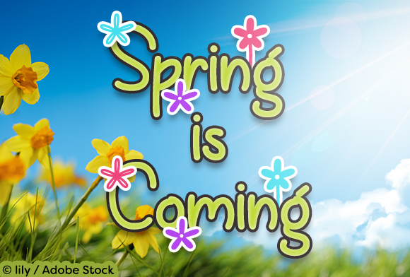 Print on Demand: Spring is Coming Script & Handwritten Font By Misti