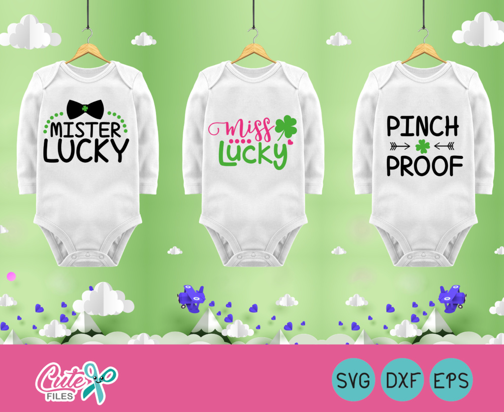 Download Free St Patrick S Day Quotes Graphic By Cute Files Creative Fabrica for Cricut Explore, Silhouette and other cutting machines.
