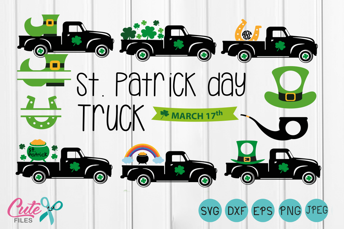 St. Patrick's Day Graphic Crafts By Cute files