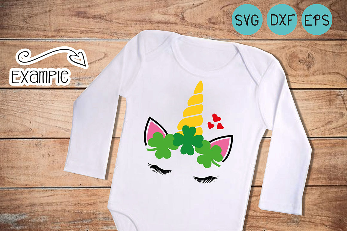 Download Free St Patrick S Day Unicorn Svg Graphic By Cute Files Creative for Cricut Explore, Silhouette and other cutting machines.