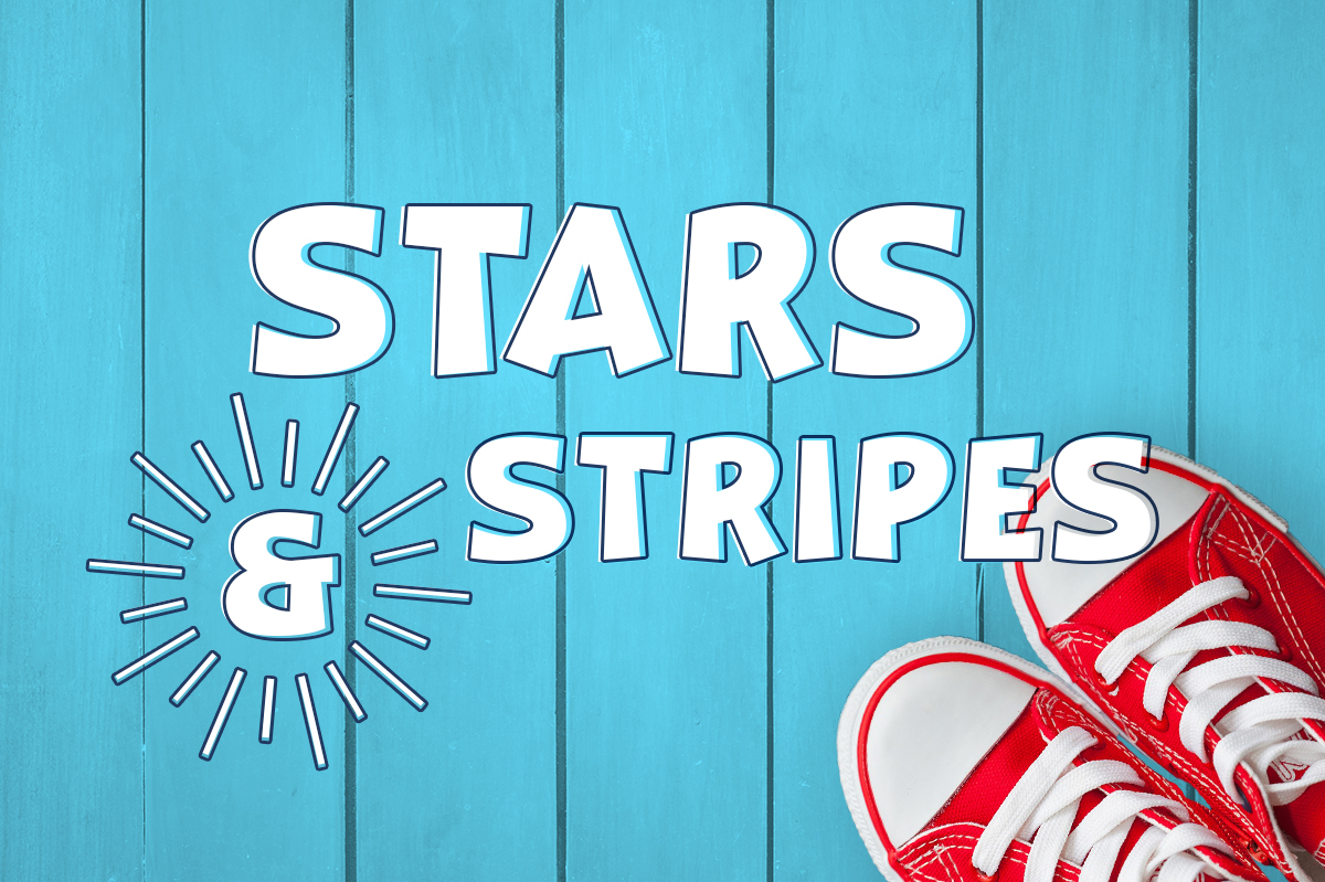 Print on Demand: Stars & Stripes Display Font By Silhouette America, Inc.