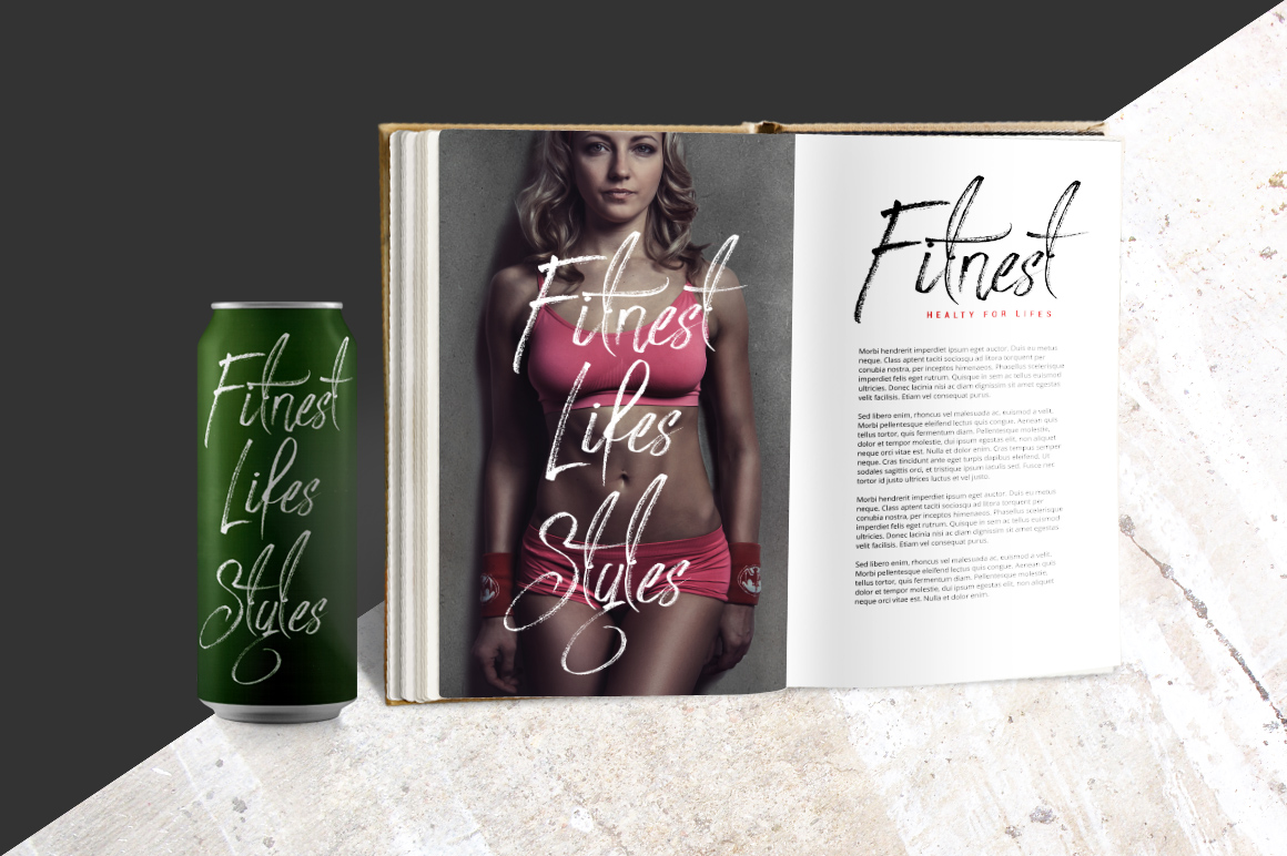 Print on Demand: Strongloves Script & Handwritten Font By feydesign - Image 5