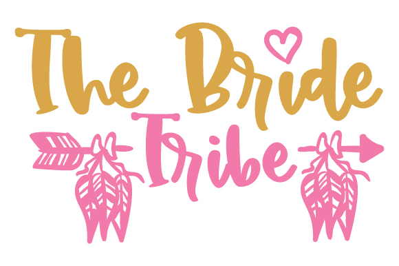 Download Free The Bride Tribe Svg Cut File By Creative Fabrica Crafts for Cricut Explore, Silhouette and other cutting machines.