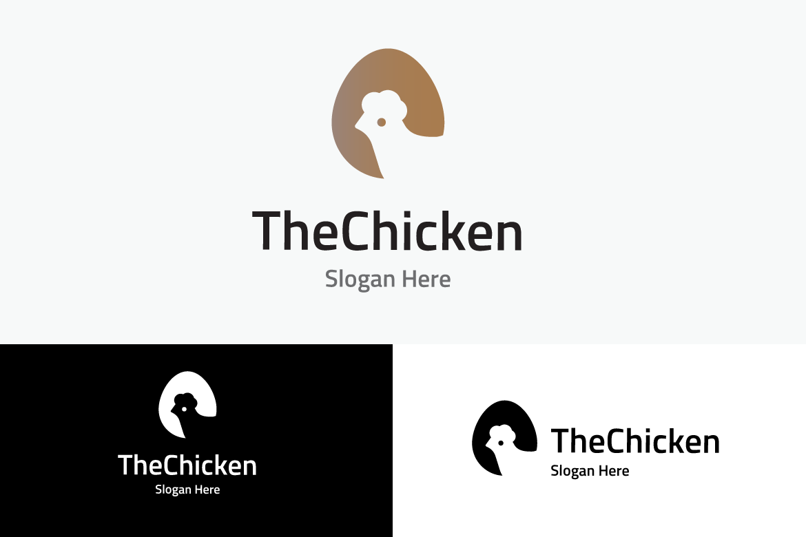 The Chicken Graphic Logos By yip87 - Image 2