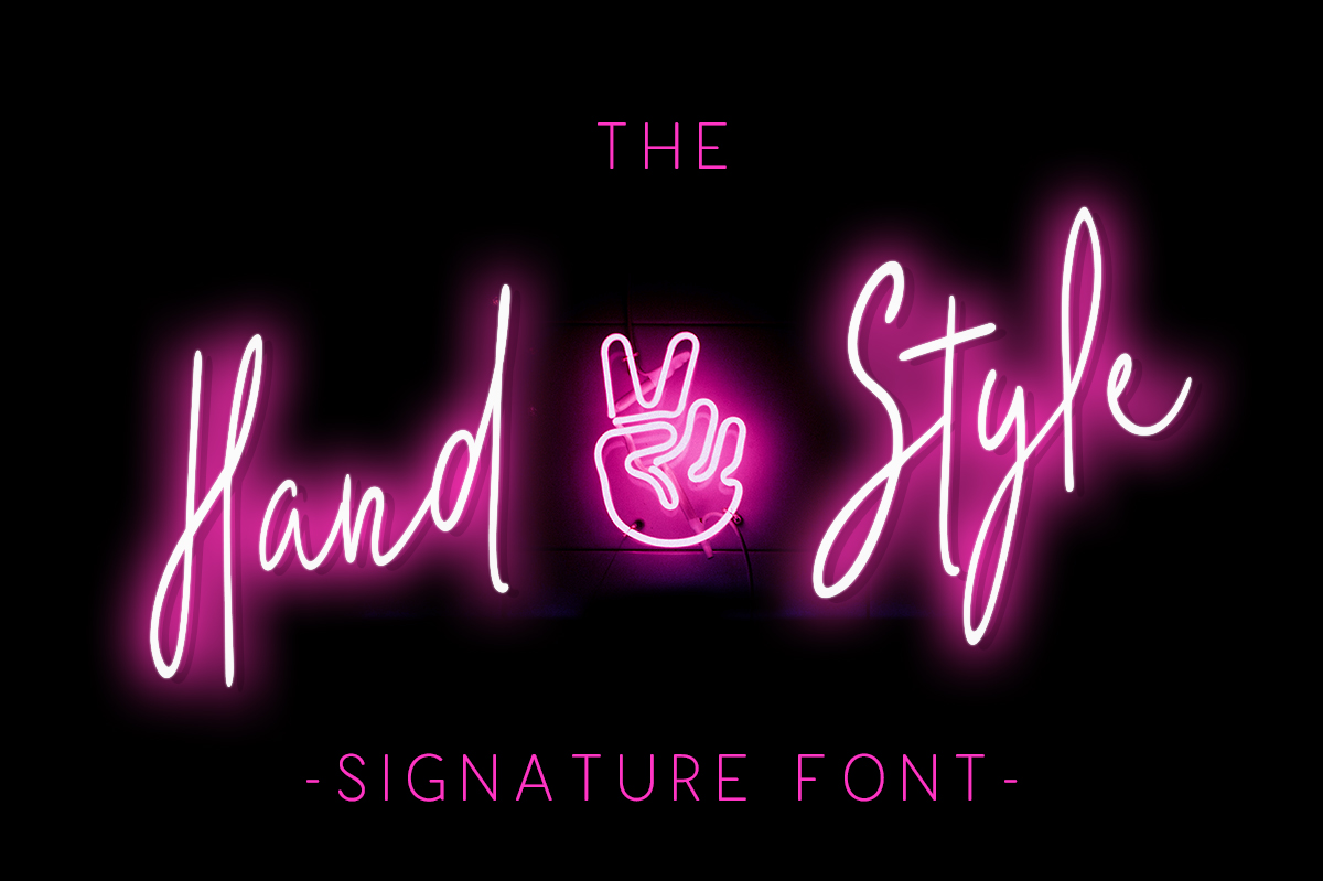 Print on Demand: The Hand Style Script & Handwritten Font By No Gravity Type