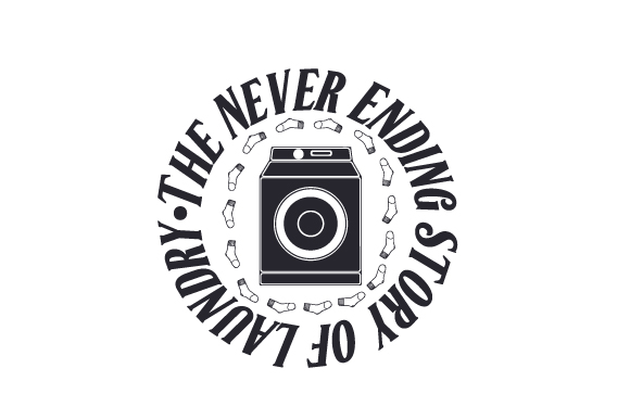 Download Free The Never Ending Story Of Laundry Svg Cut File By Creative for Cricut Explore, Silhouette and other cutting machines.