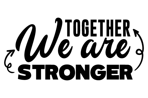 Afbeeldingsresultaat voor together we are stronger