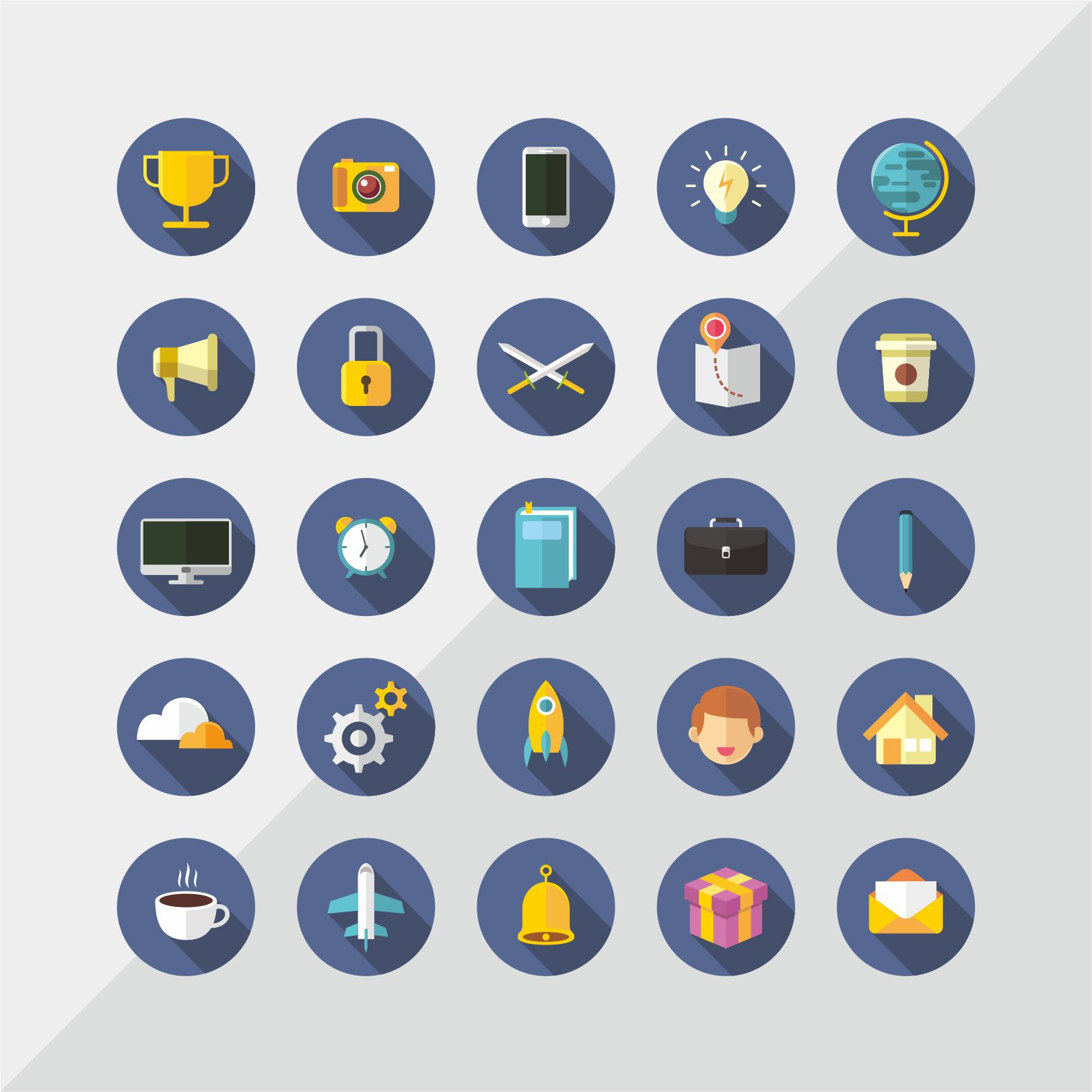 Variety Icon Set Graphic Icons By diefesvector
