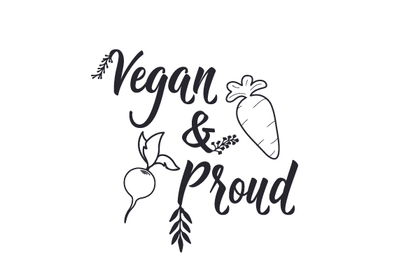 Download Free Vegan Proud Svg Cut File By Creative Fabrica Crafts Creative for Cricut Explore, Silhouette and other cutting machines.