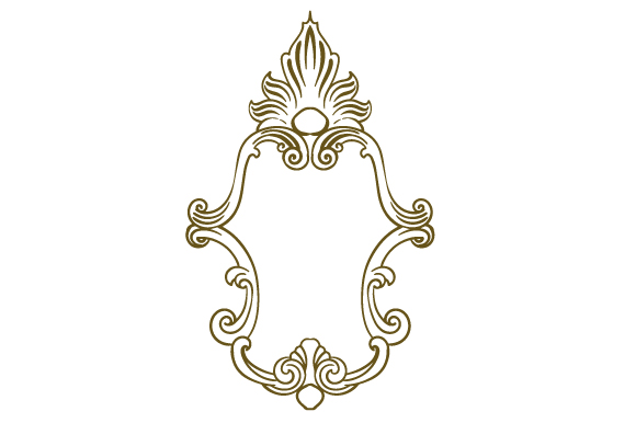 Download Free Vintage Frame Svg Cut File By Creative Fabrica Crafts Creative for Cricut Explore, Silhouette and other cutting machines.