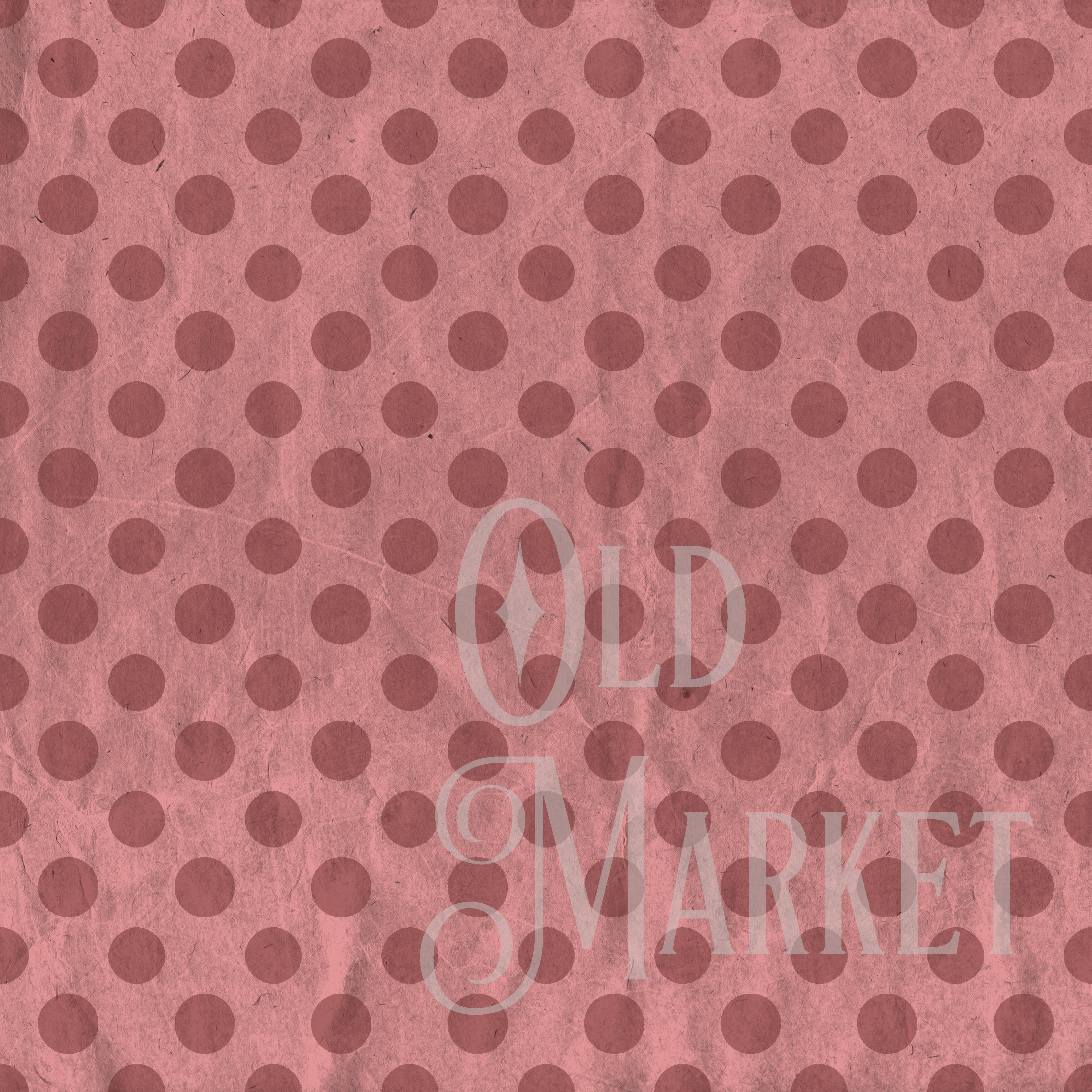 Print on Demand: Vintage Red & Green Digital Paper - Christmas Digital Paper Graphic Backgrounds By oldmarketdesigns - Image 2