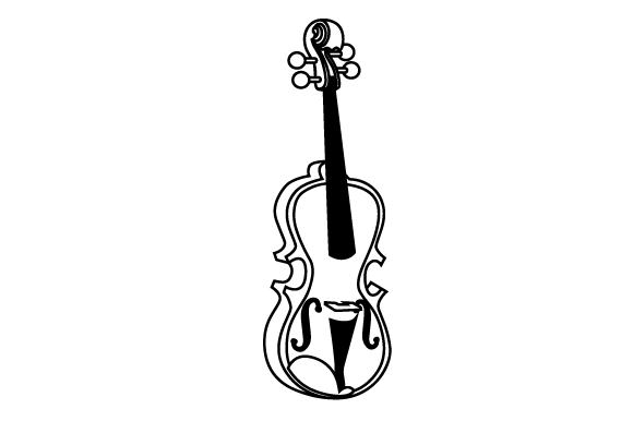 Download Free Violin Svg Cut File By Creative Fabrica Crafts Creative Fabrica for Cricut Explore, Silhouette and other cutting machines.
