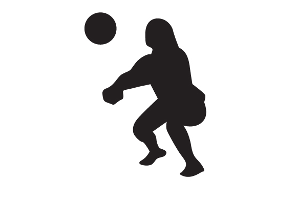 Download Free Volleyball Player 2 Svg Cut File By Creative Fabrica Crafts for Cricut Explore, Silhouette and other cutting machines.