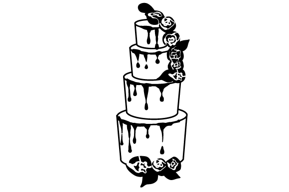 Download Free Wedding Cake 1 Svg Cut File By Creative Fabrica Crafts SVG Cut Files
