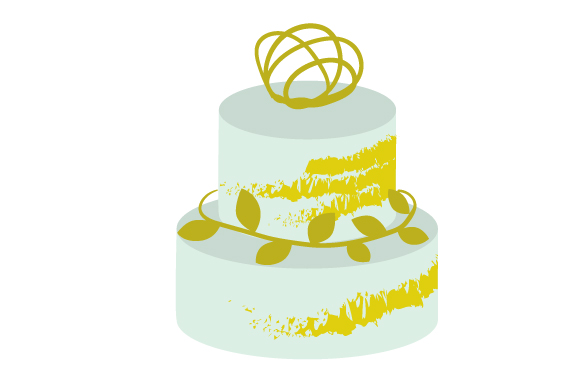 Wedding Cake 2 Svg Cut File By Creative Fabrica Crafts