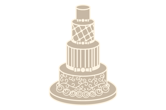 Download Free Wedding Cake Svg Cut File By Creative Fabrica Crafts Creative SVG Cut Files
