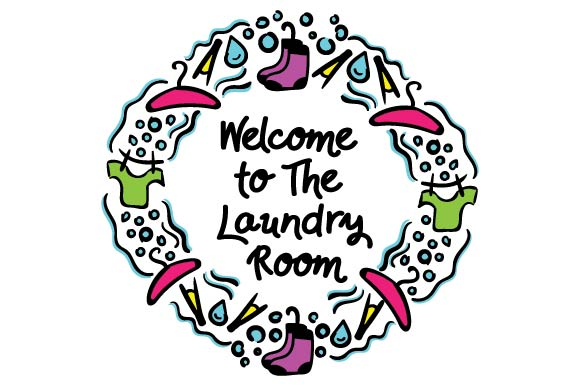 Welcome to the Laundry Room Laundry Room Craft Cut File By Creative Fabrica Crafts