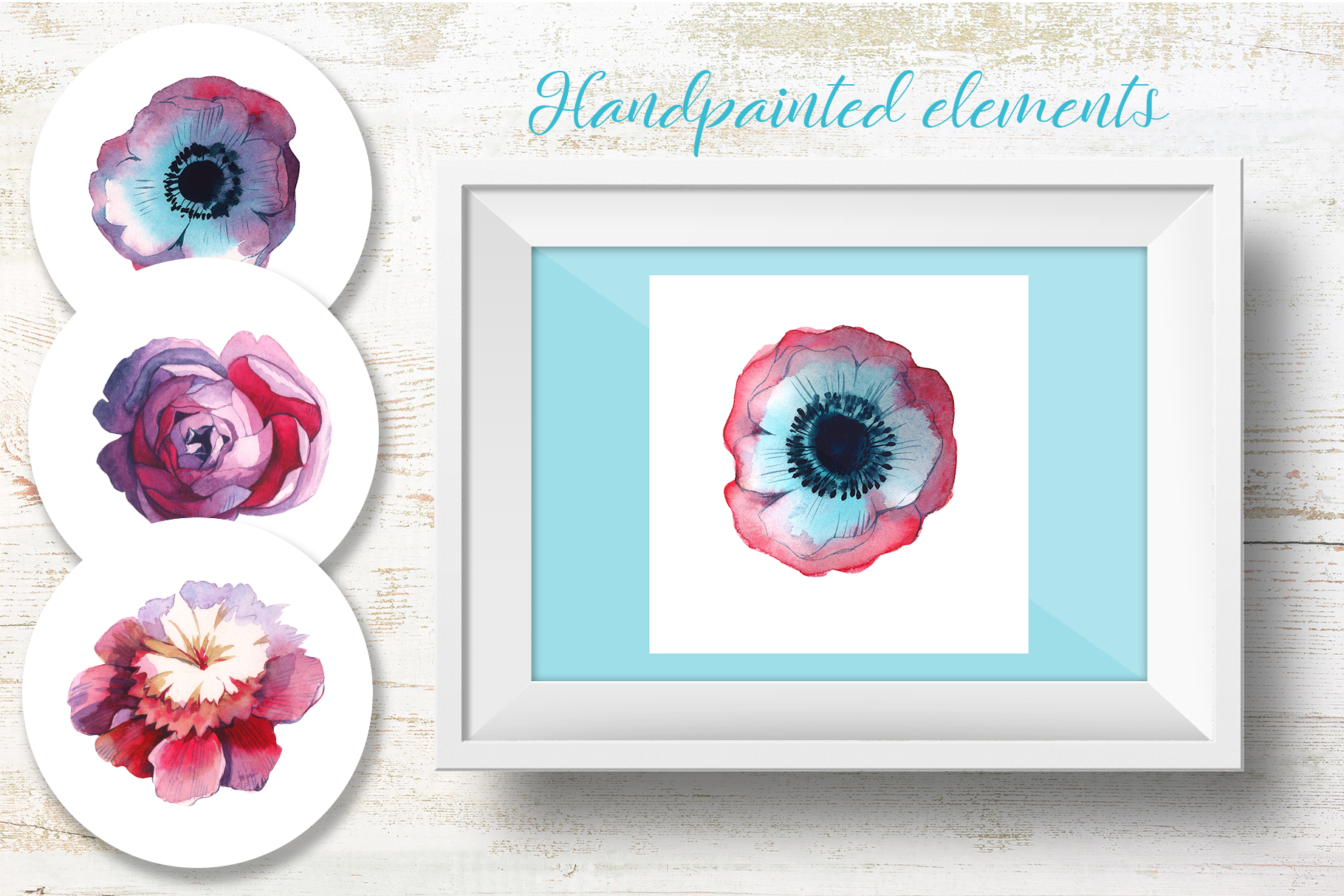 Print on Demand: Wildflowers Watercolor Set Graphic Illustrations By MyStocks - Image 4